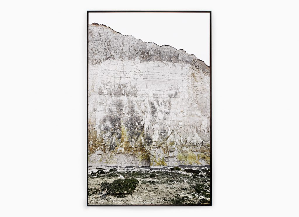 Falaise nº25 – Edge of silence, 2013 – Photograph – Pigment print on cotton paper, 178 x 108 cm