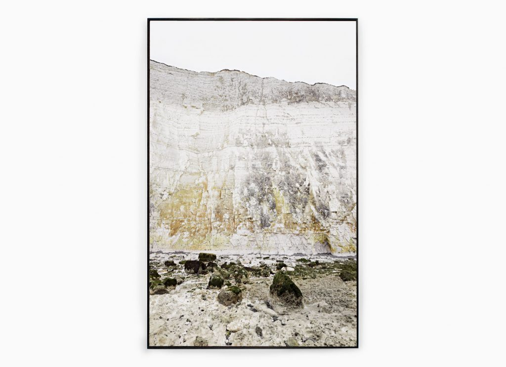 Falaise nº21 – Edge of silence, 2013 – Photograph – Pigment print on cotton paper, 178 x 108 cm