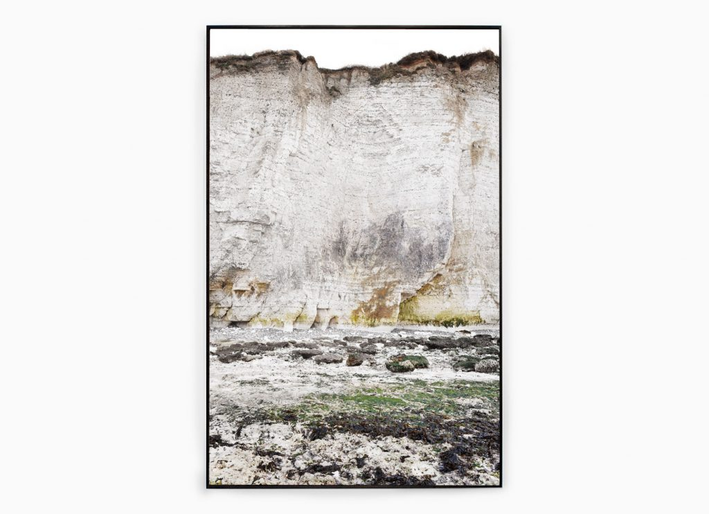 Falaise nº4 – Edge of silence, 2013 – Photograph – Pigment print on cotton paper, 178 x 108 cm