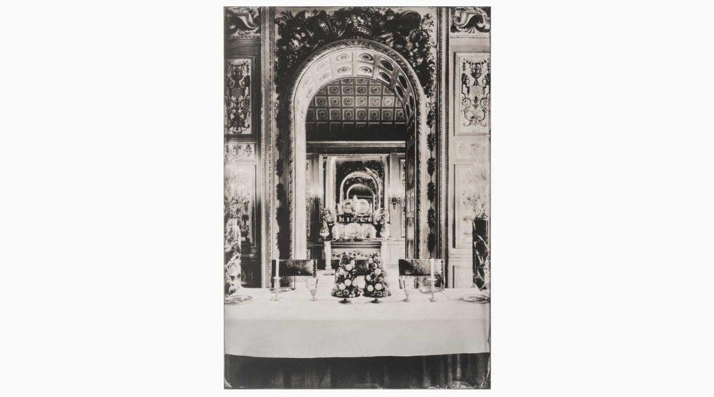 l ́Harmonie somptueuse du Château nº2 – Château de Vaux-le-Vicomte, 2014 – Wet plate collodion as pigment print on cotton paper, 60 x 45 cm