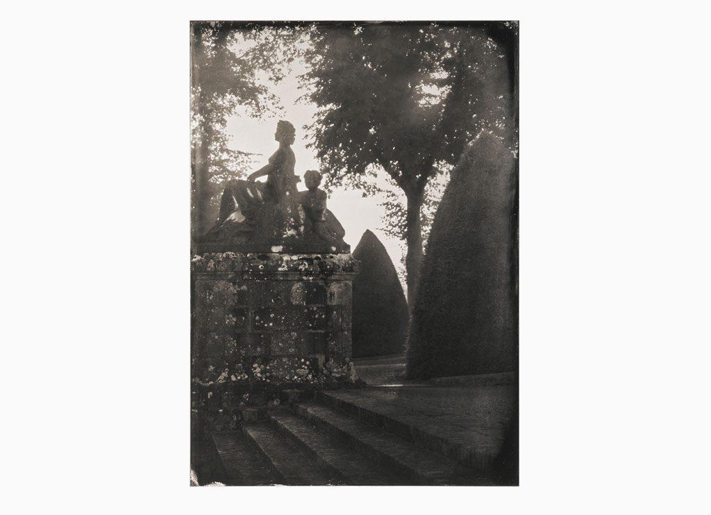 L'Asie – Château de Vaux-le-Vicomte, 2014 – Wet plate collodion as pigment print on cotton paper, 60 x 45 cm