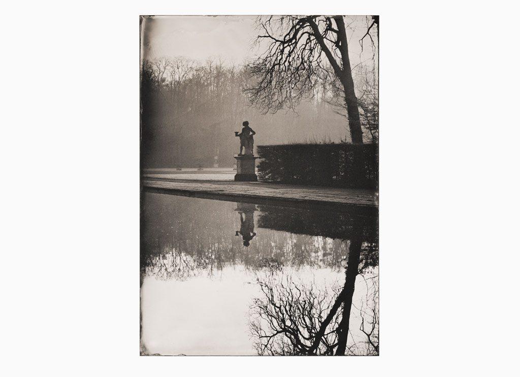 Réflexion du Temps qui Passe – Château de Vaux-le-Vicomte, 2014 – Wet plate collodion as pigment print on cotton paper, 60 x 45 cm