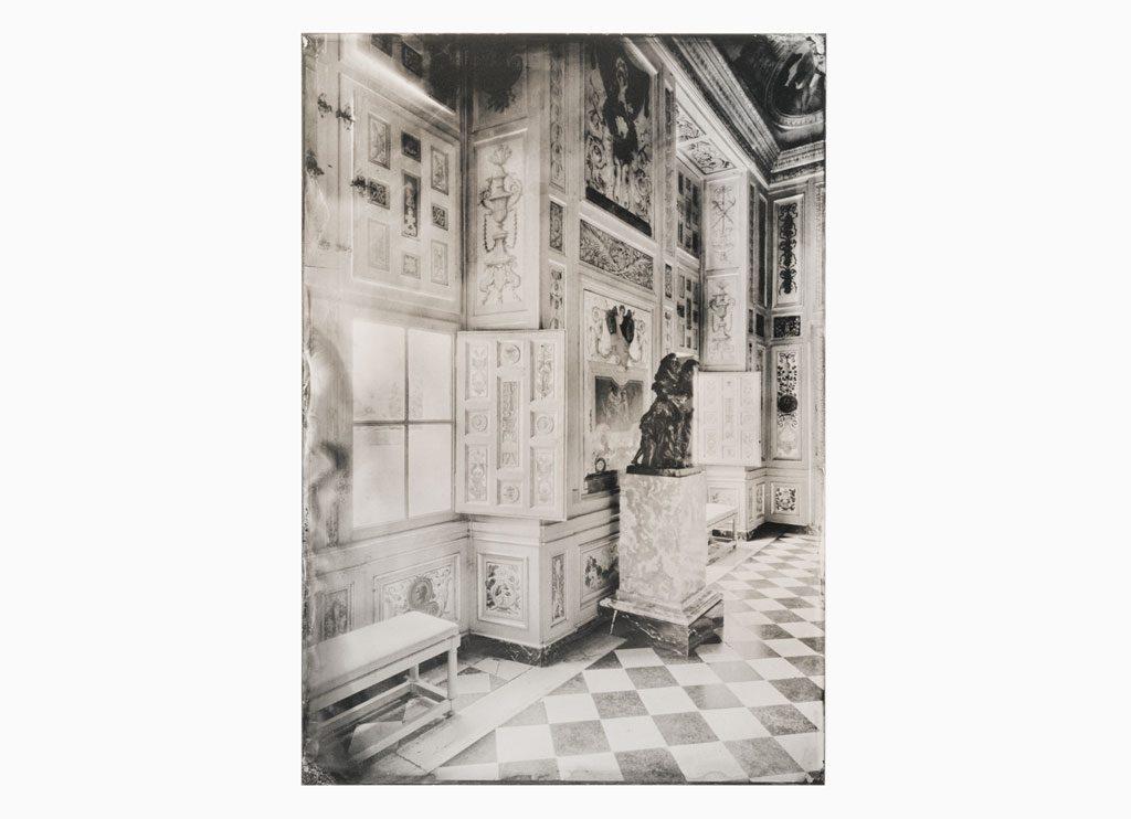 l ́Harmonie somptueuse du Château – Château de Vaux-le-Vicomte, 2014 – Wet plate collodion as pigment print on cotton paper, 60 x 45 cm