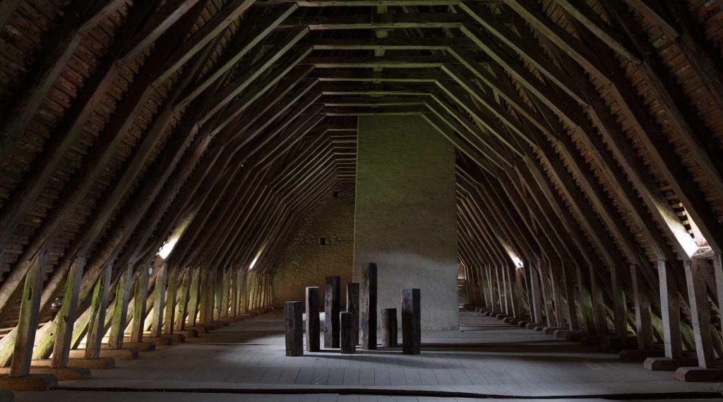 Installation at the Château de Montmoreau, France